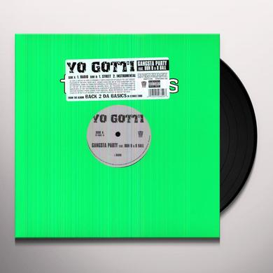 Yo Gotti GANGSTA PARTY Vinyl Record