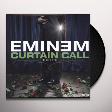 Eminem CURTAIN CALL: THE HITS Vinyl Record