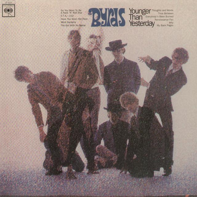 The Byrds YOUNGER THAN YESTERDAY Vinyl Record