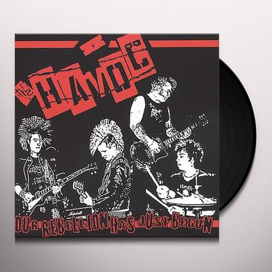 Havoc OUR REBELLION HAS JUST BEGUN Vinyl Record