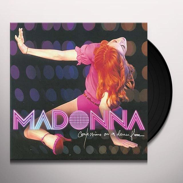 Madonna CONFESSIONS ON A DANCEFLOOR (PINK VINYL) Vinyl Record