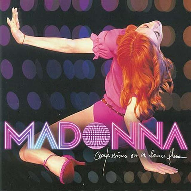 Madonna CONFESSIONS ON A DANCEFLOOR (PINK VINYL) Vinyl Record - UK Import