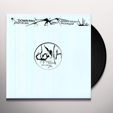 Ellen Allien DOWN REMIXES (EP) Vinyl Record