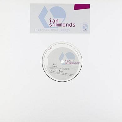 Ian Simmonds INTERNATIONAL SONGS Vinyl Record
