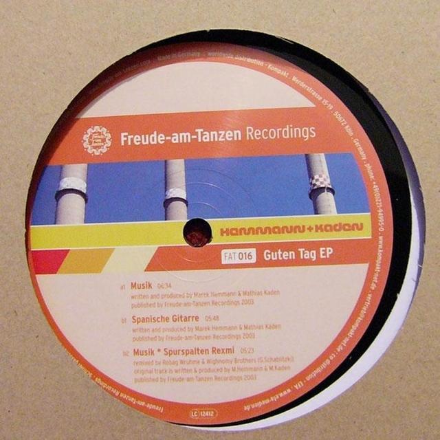 Hemmann & Kaden GUTEN TAG Vinyl Record
