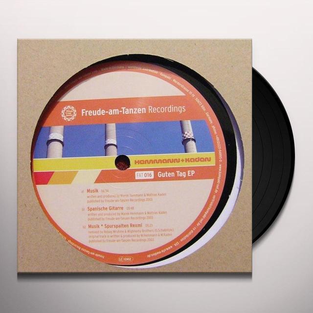 Hemmann & Kaden GUTEN TAG (EP) Vinyl Record
