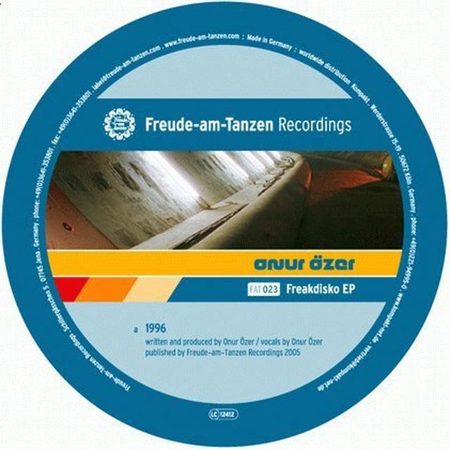 Onur Ozer FREAKDISKO (EP) Vinyl Record
