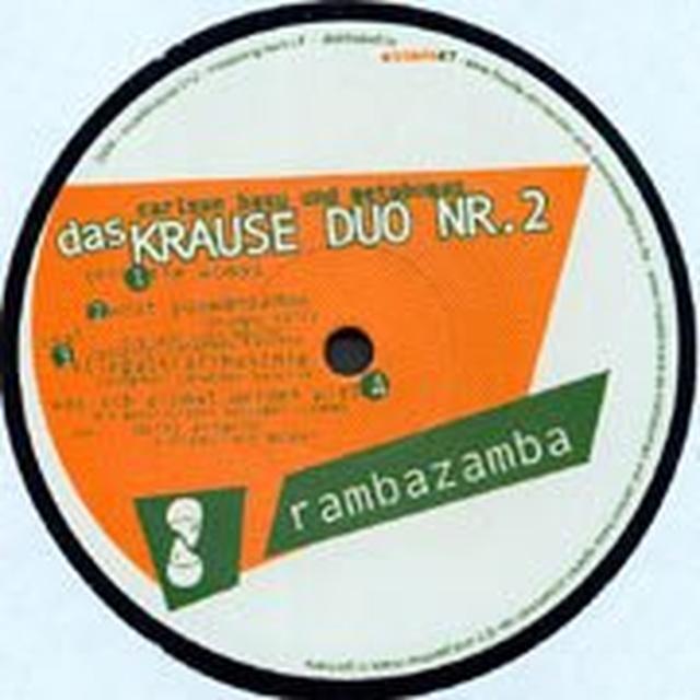 Krause Duo Nr 2 RAMBAZAMBA (EP) Vinyl Record