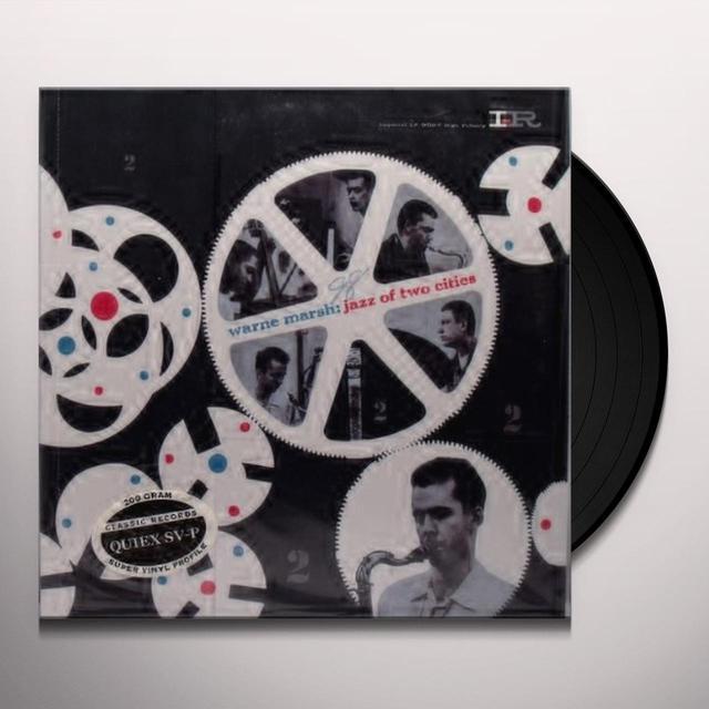 Warne Marsh JAZZ OF TWO CITES Vinyl Record