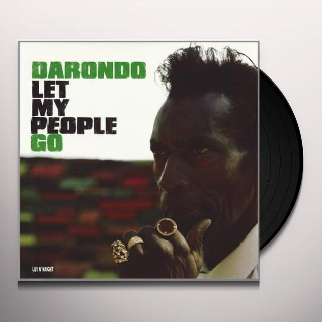 Darondo LET MY PEOPLE GO Vinyl Record