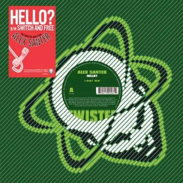 Alex Santer HELLO Vinyl Record