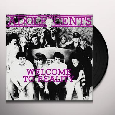 Adolescents WELCOME TO REALITY  (EP) Vinyl Record - 10 Inch Single