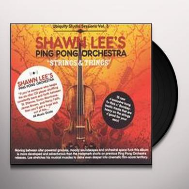 Shawn / Ping Pong Orchestra Lee STRINGS & THINGS UBIQUITY STUDIO SESSIONS 3 Vinyl Record