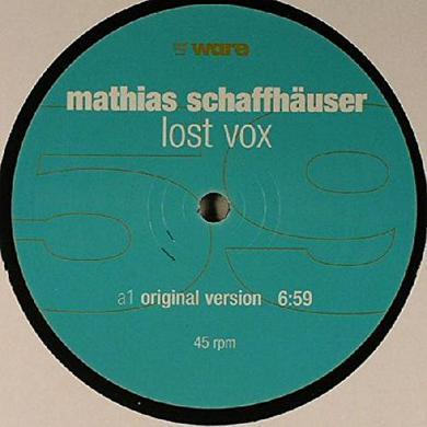 Mathias Schaffhauser LOST VOX Vinyl Record
