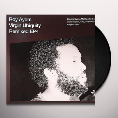 Roy Ayers REMIXED EP4 Vinyl Record - Limited Edition, Remixes
