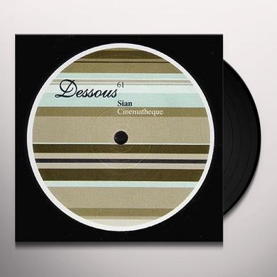 Sian CINEMATHEQUE Vinyl Record