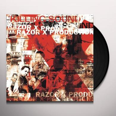 Razor X Productions KILLING SOUND Vinyl Record
