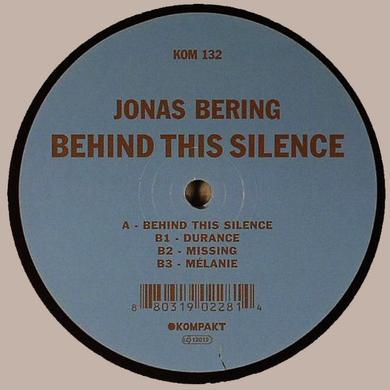 Jonas Bering BEHIND THIS SILENCE Vinyl Record