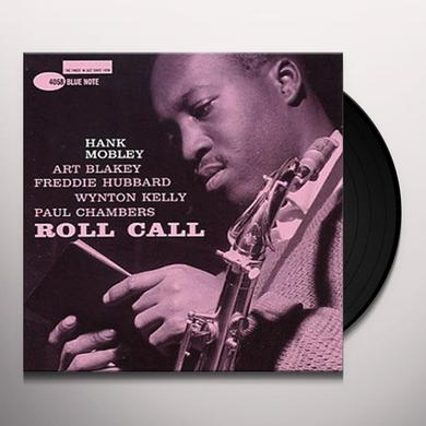 Hank Mobley ROLL CALL (STEREO) Vinyl Record