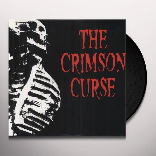 Crimson Curse BOTH FEET IN THE GRAVE Vinyl Record