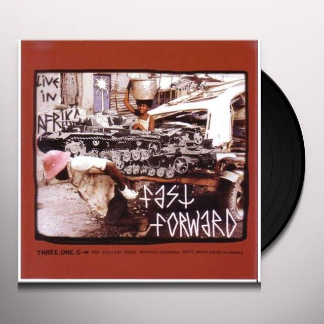 Fast Forward / T Cells SPLIT Vinyl Record
