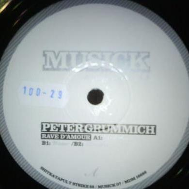 Peter Grummich RAVE D'AMOUR Vinyl Record