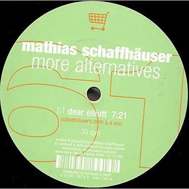 Mathias Schaffhauser MORE ALTERNATIVES Vinyl Record