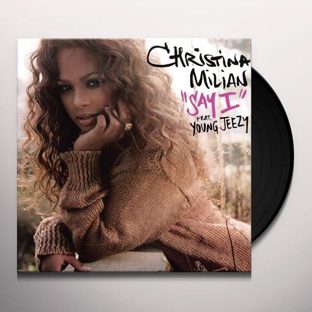 Christina Milian SAY I (X3) Vinyl Record