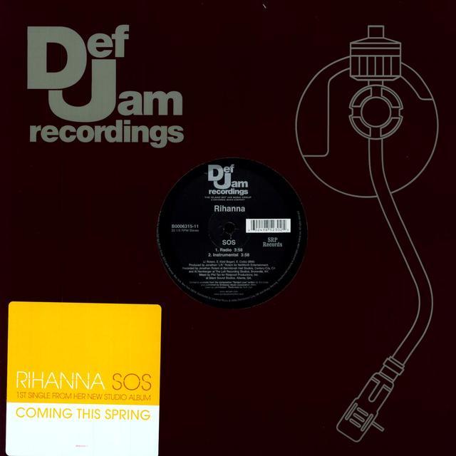 Rihanna SOS (X2) (Vinyl)
