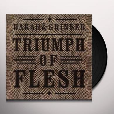 Dakar & Grinser TRIUMPH OF FLESH Vinyl Record