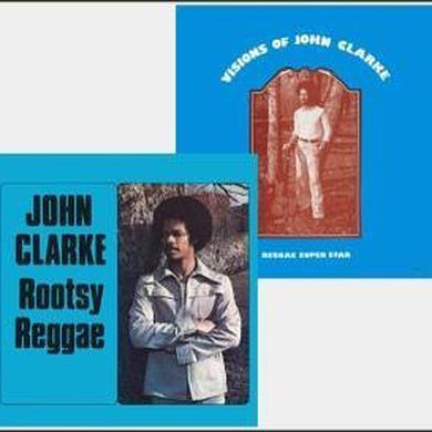 John Clarke ROOTSY REGGAE Vinyl Record
