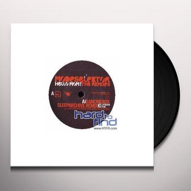 Modeselektor HELLO MOM REMIXES (EP) Vinyl Record