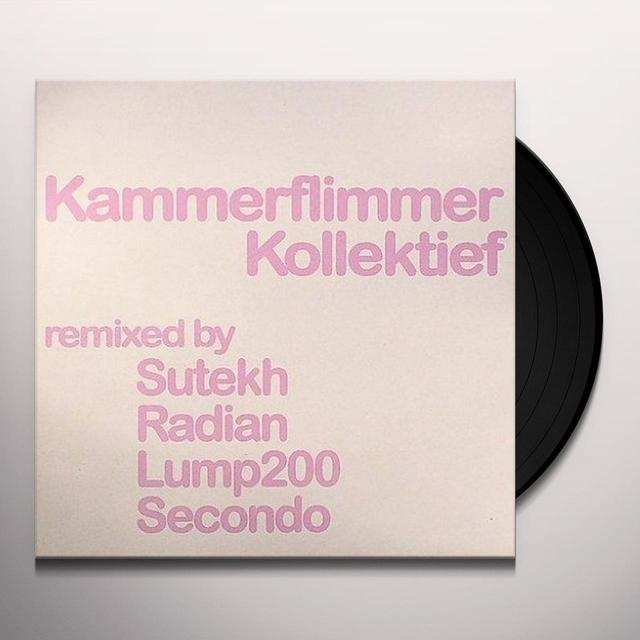 Kammerflimmer Kollektief REMIXED PT 2 (EP) Vinyl Record - Remixes