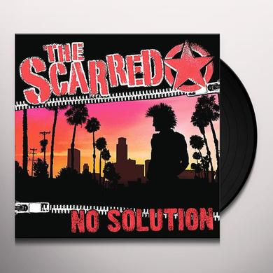 Scarred NO SOLUTION Vinyl Record