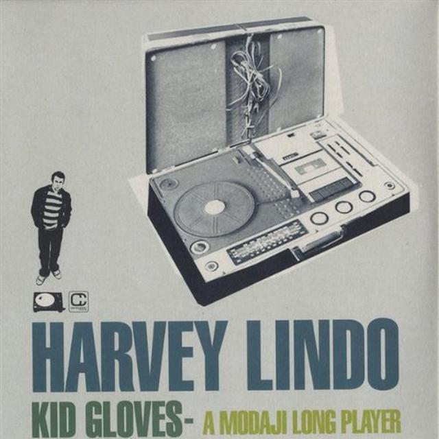 Harvey Lindo KID GLOVES: A MODAJI LONG PLAYER Vinyl Record