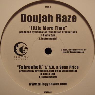 Doujah Raze LITTLE MORE TIME Vinyl Record