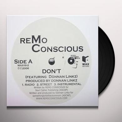 Remo Conscious DON'T: LIES Vinyl Record