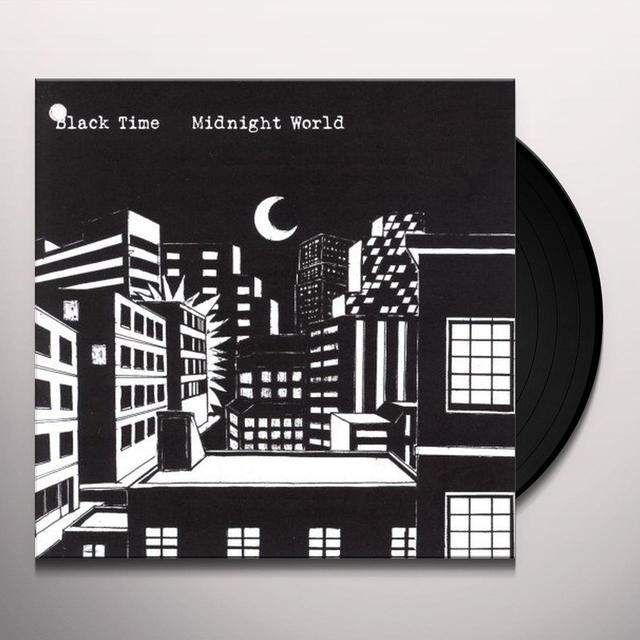 Black Time MIDNIGHT WORLD Vinyl Record