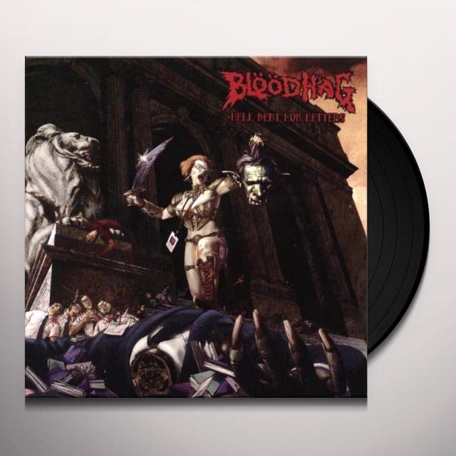 Bloodhag HELL BENT FOR LETTERS Vinyl Record