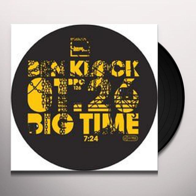 Ben Klock BIG TIME Vinyl Record