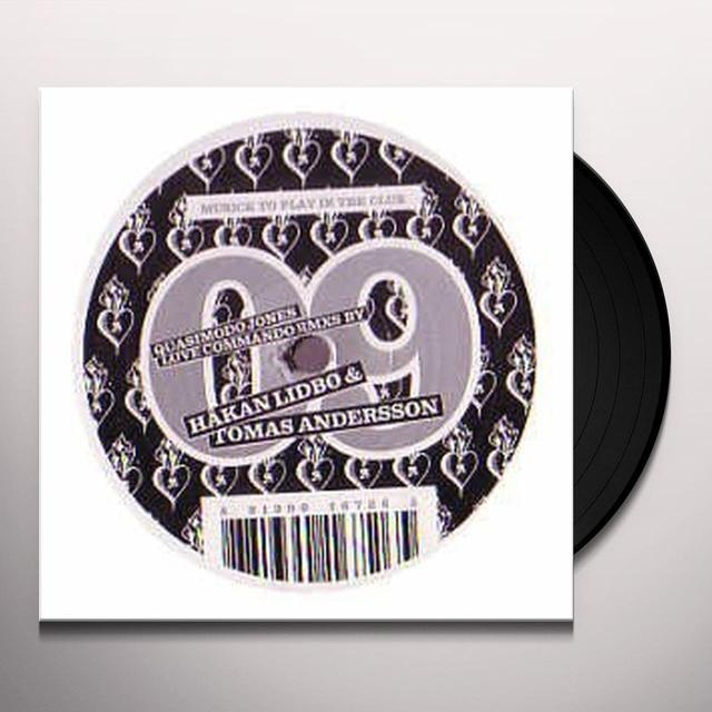 Quasimodo Jones MUSICK 9: LOVE COMMANDO RMXS Vinyl Record