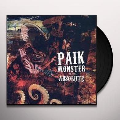 Paik MONSTER OF THE ABSOLUTE Vinyl Record