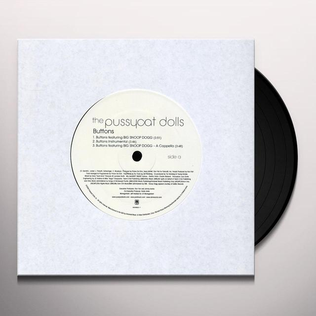 Pussycat Dolls BUTTONS (X6) Vinyl Record