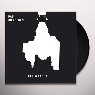 Das Bierbeben ALLES FALLT Vinyl Record