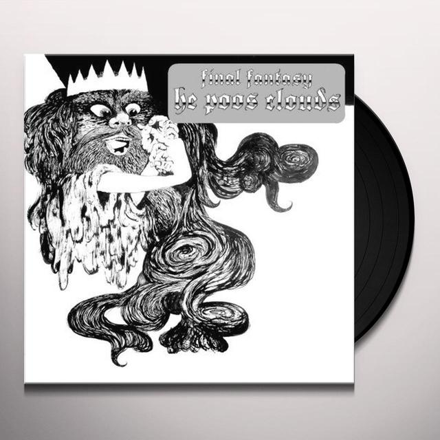Final Fantasy HE POOS CLOUDS Vinyl Record