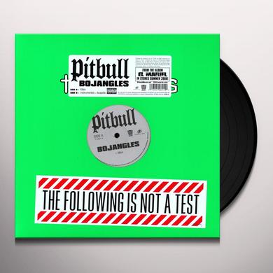 Pitbull BOJANGLES Vinyl Record