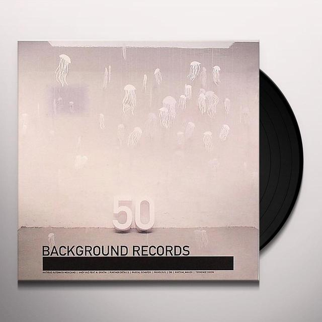 BACKGROUND 50 / VARIOUS Vinyl Record