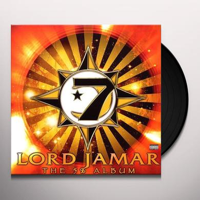 Lord Jamar FIVE PERCENT ALBUM Vinyl Record