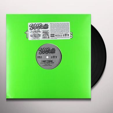 Yo Gotti I GOT THEM & THAT'S WHAT THEY MADE IT FOE Vinyl Record