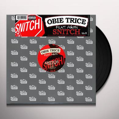 Obie Trice SNITCH (X4) Vinyl Record